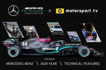 Mercedes & Motorsport Network starten offiziellen Kanal auf Motorsport.tv