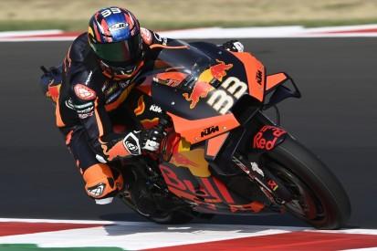 MotoGP FT2 Misano 2: Brad Binder führt enges Klassement an