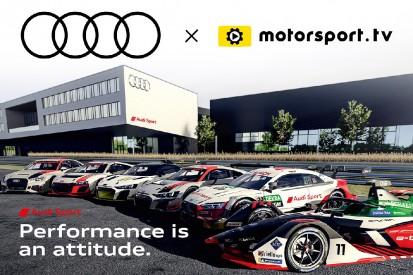 Audi Sport startet eigenen OTT-Kanal auf Motorsport.tv