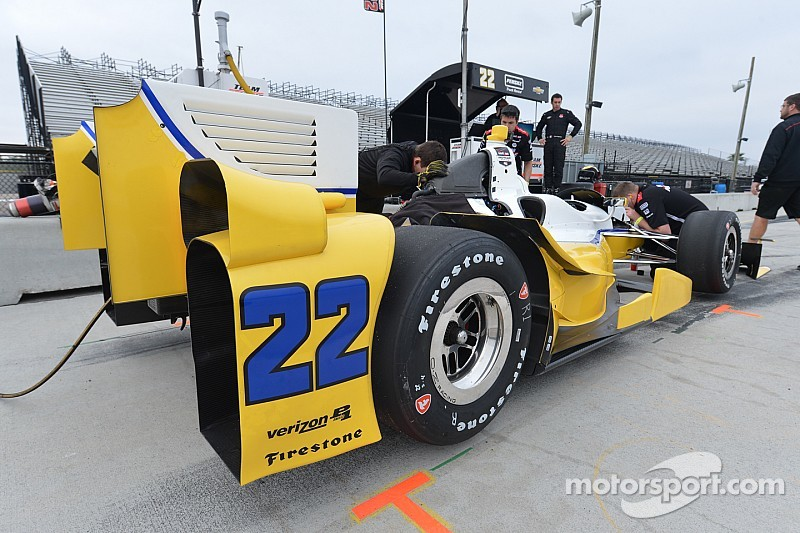 Pagenaud fast in opening session of IndyCar testing