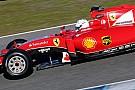 Williams - Le moteur Ferrari a réalisé