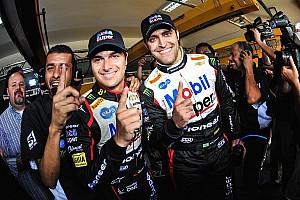 Stock car Reporte de calificación Abreu y Piquet en la pole en los stock cars en Brasil