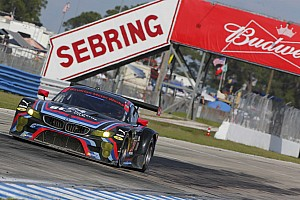 IMSA Race report BMW Team RLL misses out on podium in Sebring
