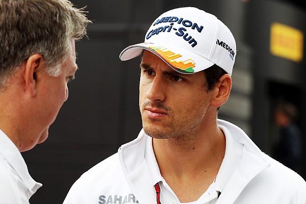 Adrian Sutil officialisé comme pilote de réserve Williams