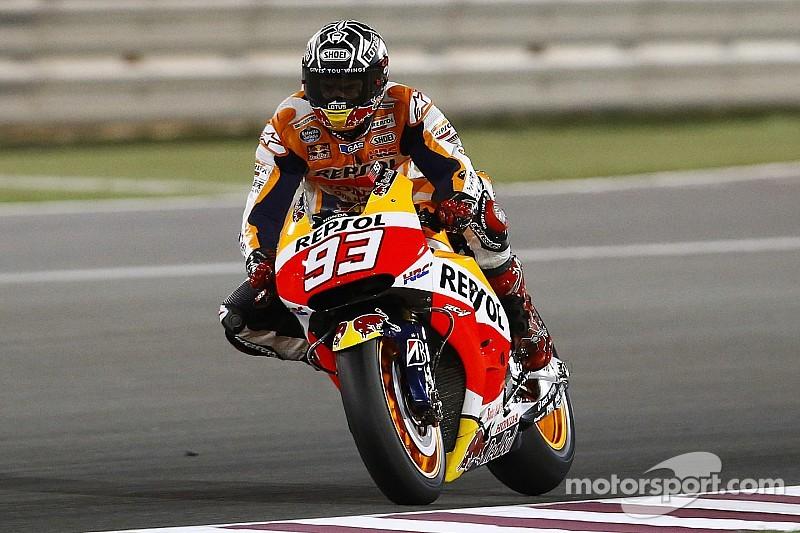Márquez marca el ritmo en la apertura en Qatar