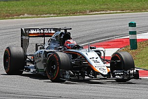 Formula 1 Practice report Sahara Force India started its Malaysian GP weekend with two productive practice sessions