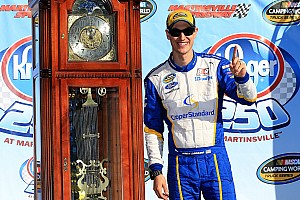 NASCAR Truck Race report Logano takes victory in wild Truck race at Martinsville