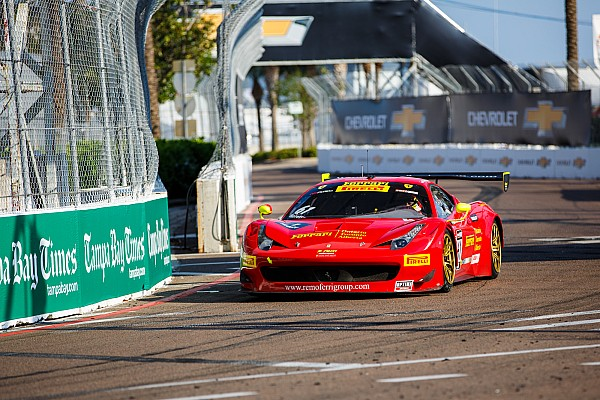 Olivier Beretta takes his second Pirelli World Challenge win