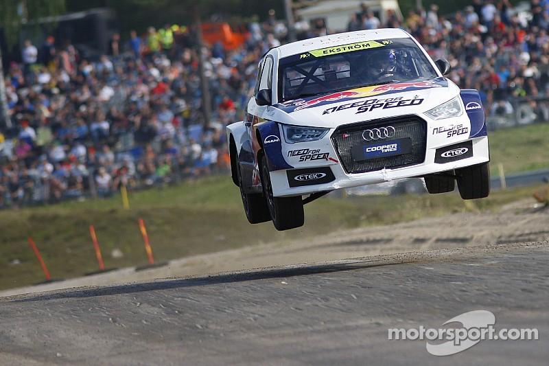 Mattias Ekström vise le titre en World RX