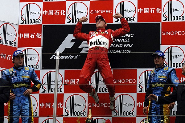 Chinese GP: 10 previous winners of the race
