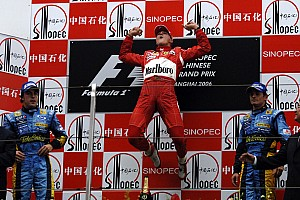 Formula 1 Special feature Chinese GP: 10 previous winners of the race