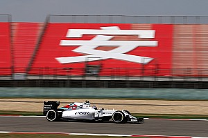 Formula 1 Practice report Massa spin but Williams completes Friday practice at Shanghai as planned
