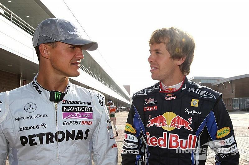Vettel se confiesa: echa de menos a Schumacher