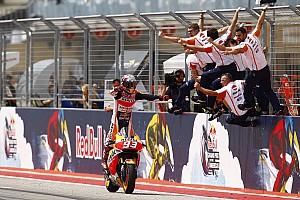MotoGP Résumé de course Marc Márquez ravi après un week-end parfait à Austin