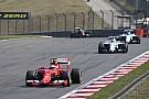 Mercedes помогает Williams догнать Ferrari?