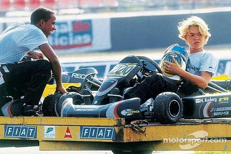 Hamilton y Rosberg: dos eternos rivales