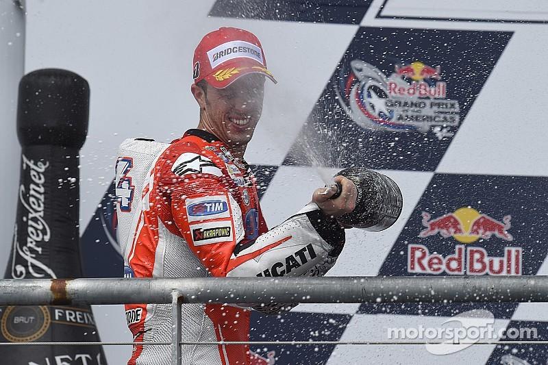 """Dovizioso: """"Ahora puedo llevar a la Ducati como quiero"""""""
