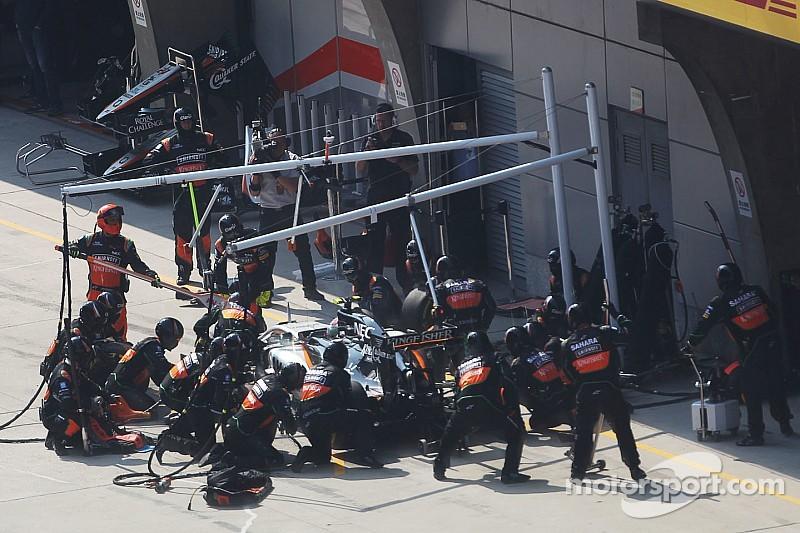 Force India propose un libre choix des gommes pour les équipes