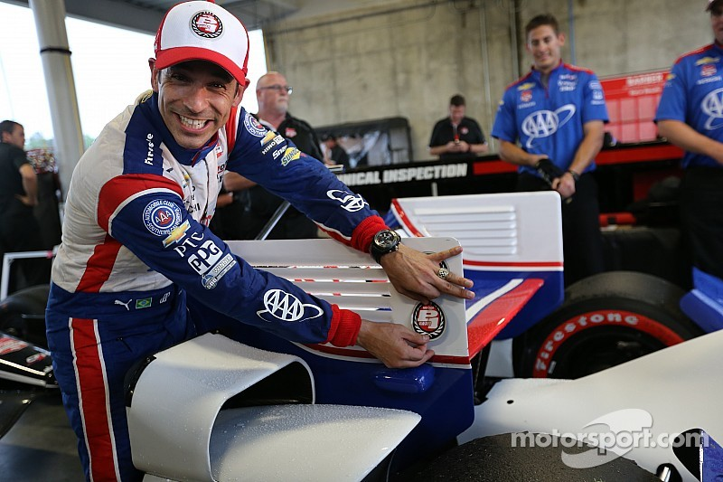Castroneves, con la pole en Alabama