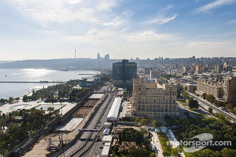 Тильке рассказал о проекте трассы в Баку