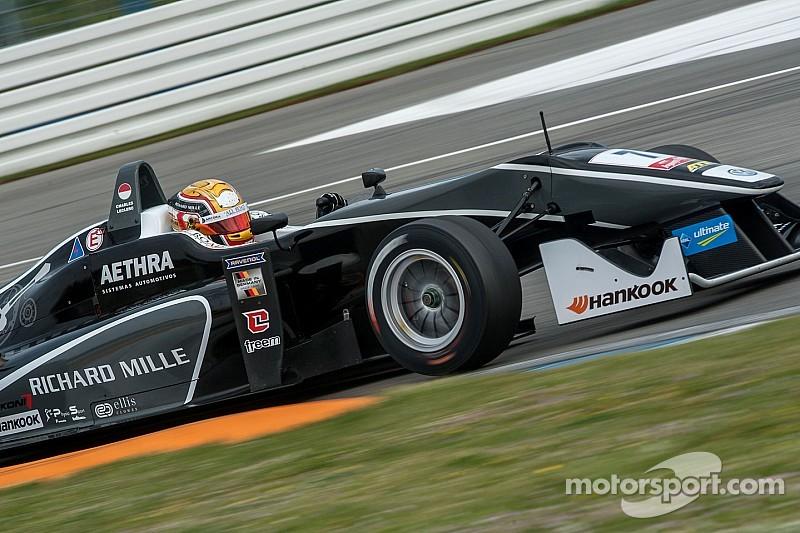 Leclerc stuns Rosenqvist to win Hockenheim finale