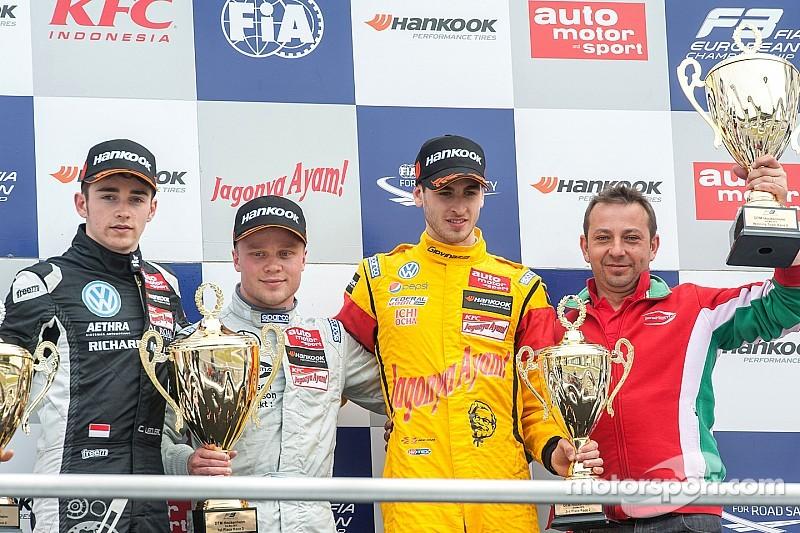 Leclerc sorprende a Rosenqvist y gana en Hockenheim