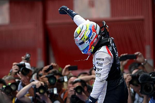 [Photos] Barcelone 2012, l'unique victoire en GP de Pastor Maldonado
