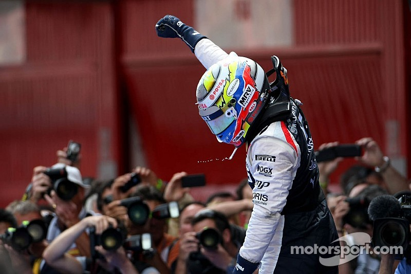 [Photos] Barcelone 2012, l'unique victoire en GP de Pastor Maldonado