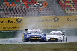 "DTM Breaking news Paffett slates Tomczyk for ""stupid"" crash"