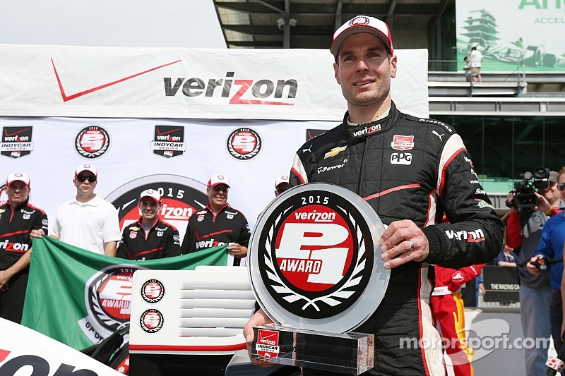 Will Power earns GP of Indy pole as Chevrolet fills top 10