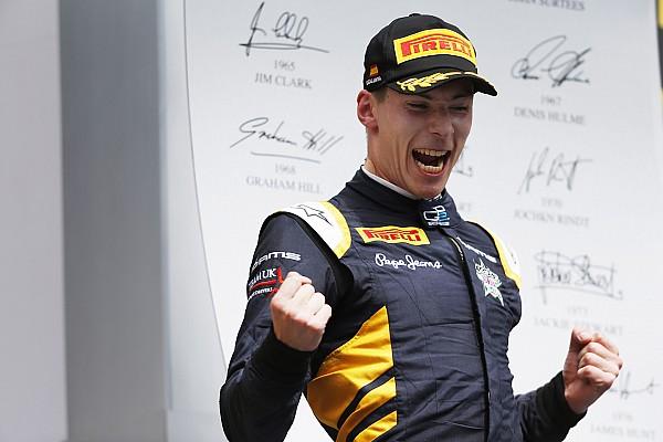 GP2: Lynn contiene a Vandoorne para ganar la carrera 2