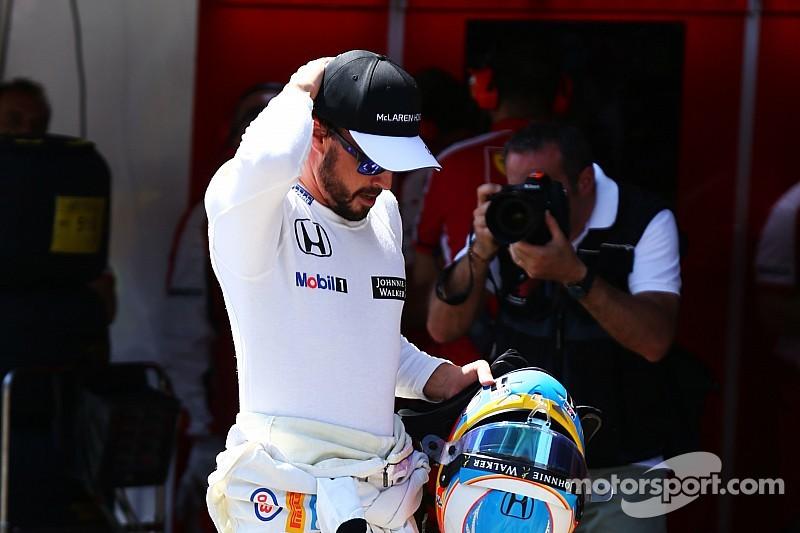 Алонсо не смог закончить гонку из-за проблем с тормозами