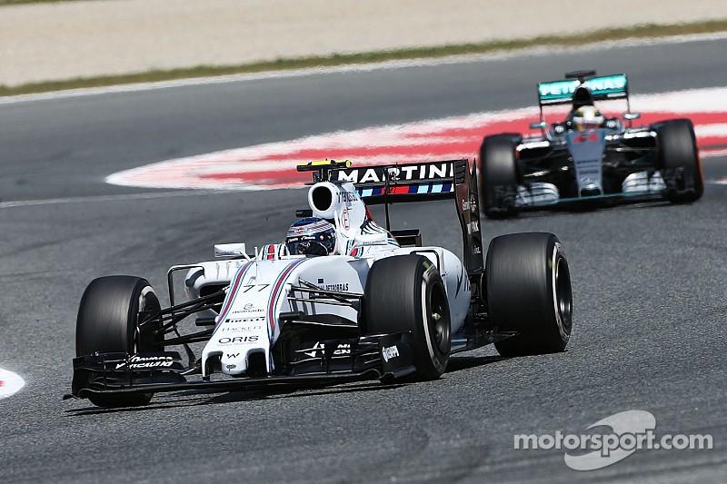 Williams ha cerrado la brecha: Bottas