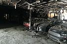 Presentan fotos de autos quemados de NASCAR