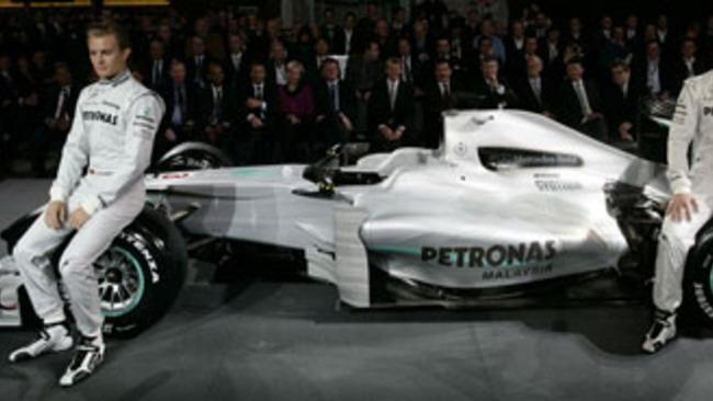 F1: la Mercedes GP presenta la nuova livrea
