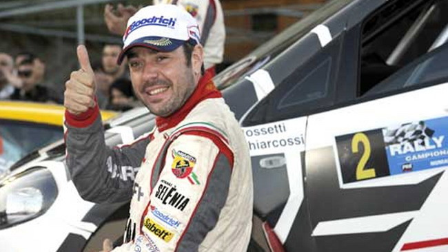 Luca Rossetti al via del Bosphorus Rally in Turchia