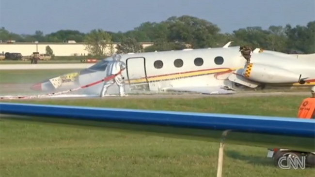Jack Roush sopravvive ad un incidente aereo