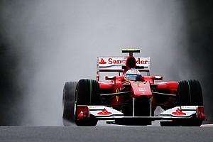 Formula 1 Ultime notizie Libere 1: Alonso bagnato, Ferrari fortunata?