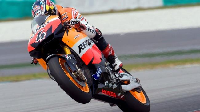 Andrea Dovizioso alla sua prima pole in MotoGP