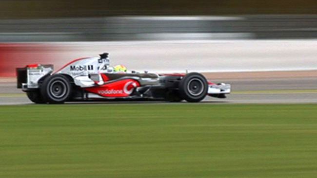 Test premio con la McLaren per Sims