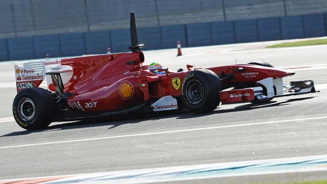 Massa si è subito trovato bene con le Pirelli