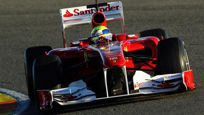 Jerez, Day 1: Massa al comando a metà mattinata