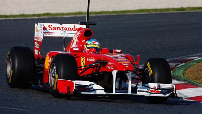 Barcellona, Day 1: Alonso davanti alla pausa pranzo