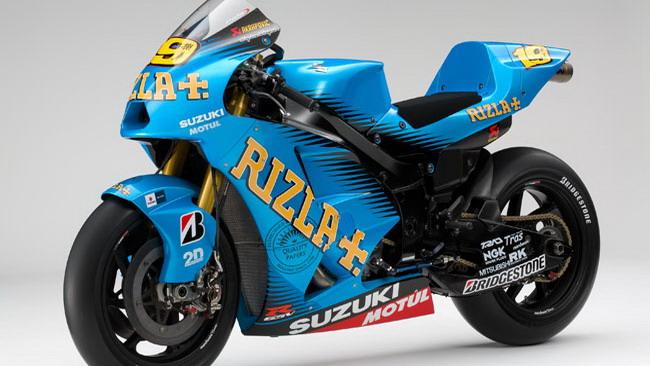 Ecco la nuova livrea della Suzuki di Bautista