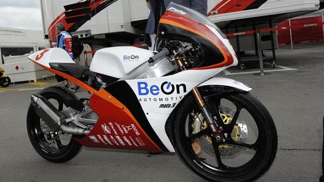 La BeOn svela il suo prototipo per la Moto3