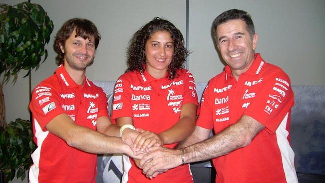 Elena Rosell è la prima ragazza della Moto2!