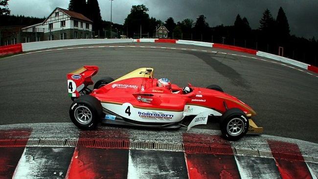 Per Bortolotti pole position bagnata