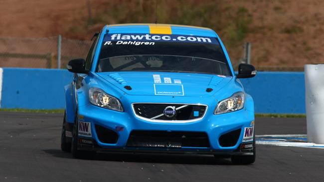 Volvo al top nel warm-up a Donington