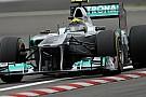 La Mercedes delude nella gara di casa