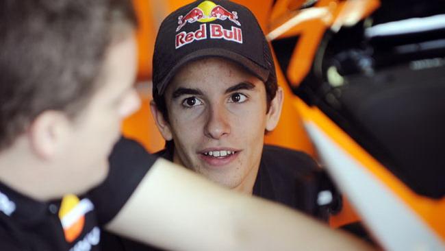 Test premio con la Honda RC212V per Marc Marquez